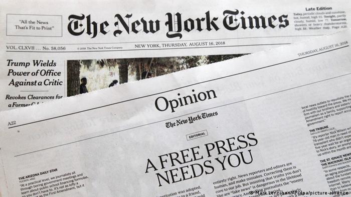USA New York   US-Medien wehren sich gegen Trump