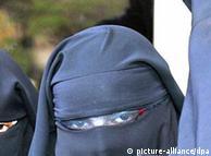 برقعپوشان  مسلمان با تابعیت فرانسوی