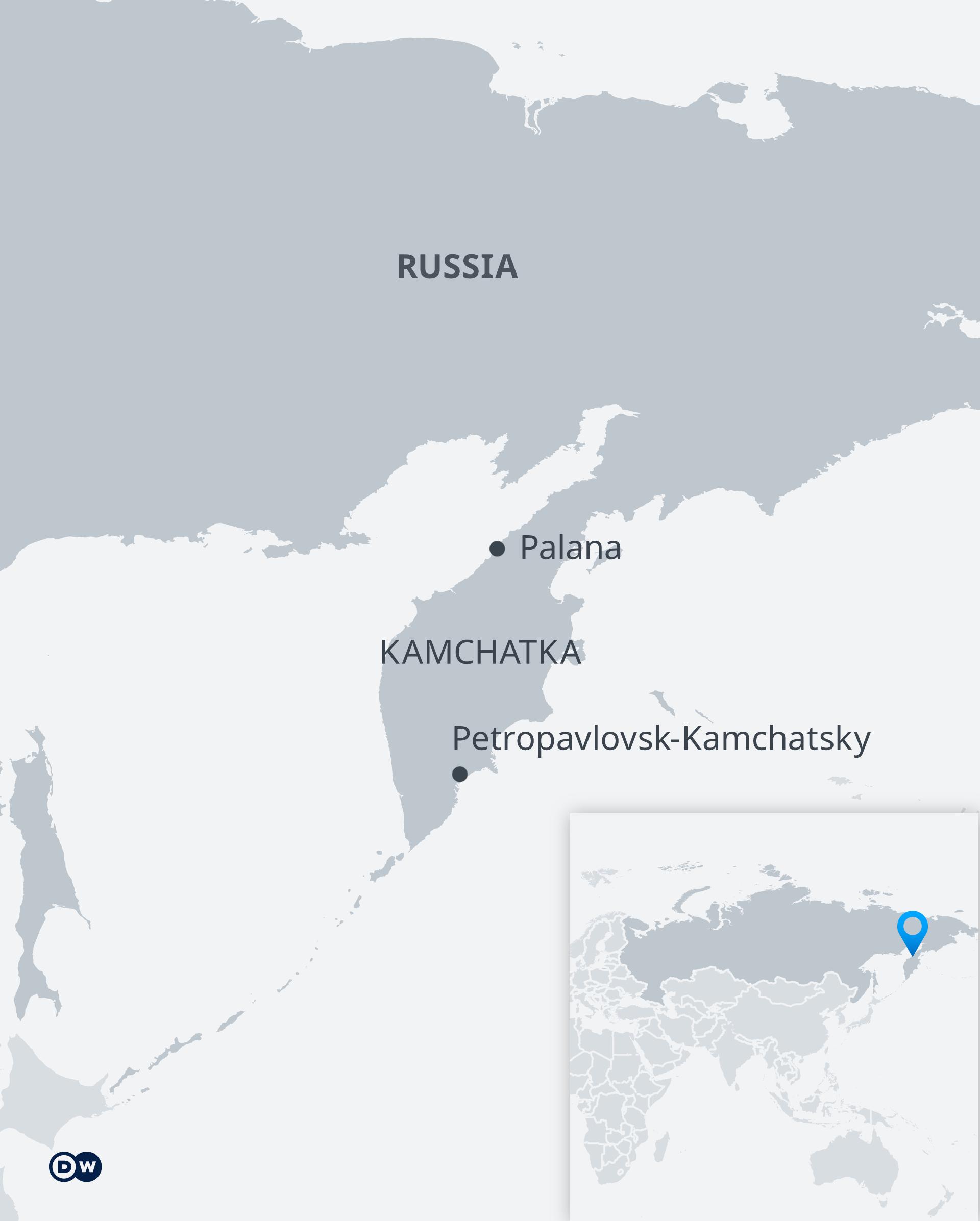 Karte Petropawlowsk-Kamtschatski EN