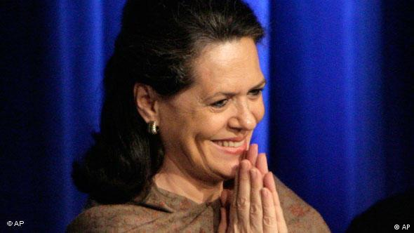 Rajiv's marriage to Sonia Gandhi caused a sensation - she is now a popular politician