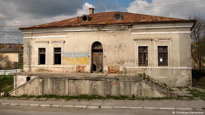Будівля хедеру в Копичінцях на Тернопільщині