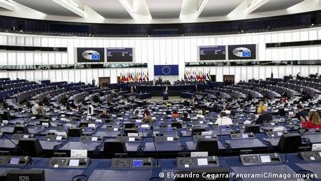 Plenarsaal Europäisches Parlament in Straßburg