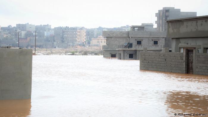 Sturzfluten in Libyen im Jahr 2019.