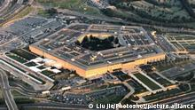 (200103) -- WASHINGTON D.C., Jan. 3, 2020 () -- File photo taken on July 11, 2018 shows the Pentagon seen from an airplane over Washington D.C., the United States. The U.S. Department of Defense announced on the night of Jan. 2, 2020 that U.S. forces had carried out a strike that killed Qasem Soleimani, commander of the Quds Force of Iran's Islamic Revolution Guards Corps. (/Liu Jie)