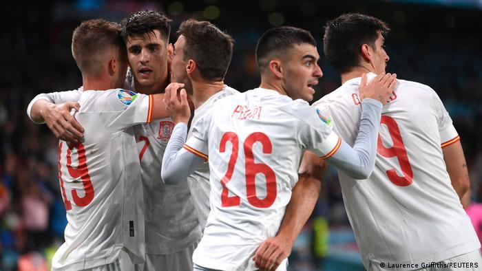 EURO 2020 | Italien vs Spanien | Tor Morata