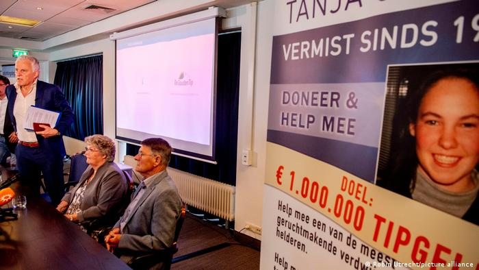 Peter de Vries at a press conference about Tanja Groen in June 2021