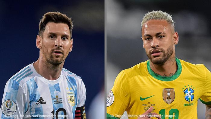 Bildkombo | Copa América | Messi - Neymar