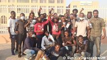 23 Aktivisten, die in Benguela verhaftet und wegen Ungehorsams angeklagt wurden, wurden vom Gericht freigesprochen Fotograf: Daniel Vasconcelos (DW Korrespondent) Wann wurde das Bild gemacht: 06.07.2021 Wo wurde das Bild aufgenommen: Benguela (Angola)
