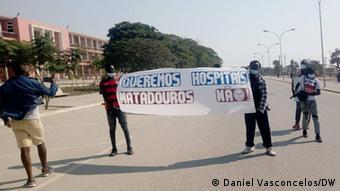 Angola | Protest für bessere Gesundheit in Benguela