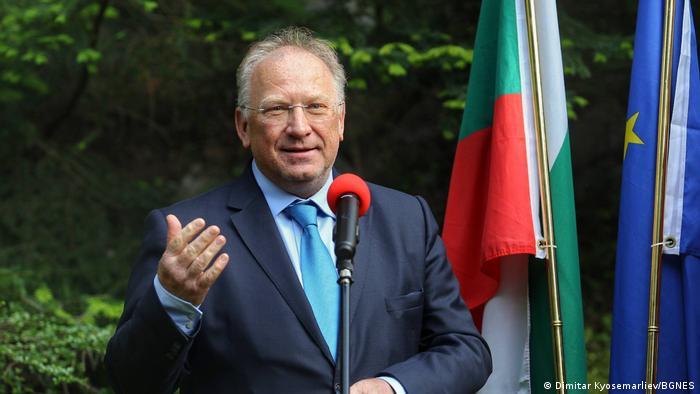 Bulgarien Außenminister Svetlan Stoev