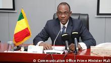 ***ACHTUNG: Bild nur zur mit dem Rechteinhaber abgesprochenen Berichterstattung verwenden!*** via Eric Topona Premierminister Choguel Kokalla Maïga. Rechte: Communication Office Prime Minister Mali