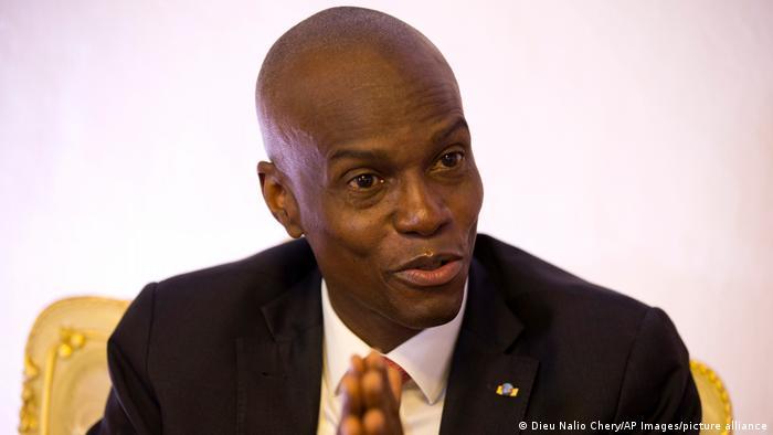 Haiti Präsident Jovenel Moise