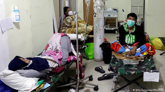 Indonesien Coronavirus Krankenhaus