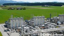 Erdgasspeicher Haidach bei Salzburg in Österreich. Er gehört den Firmen RAG, Gazprom und Wingas. Foto: Andrey Gurkov, 18 - 19. Mai 2011 in Salzburg