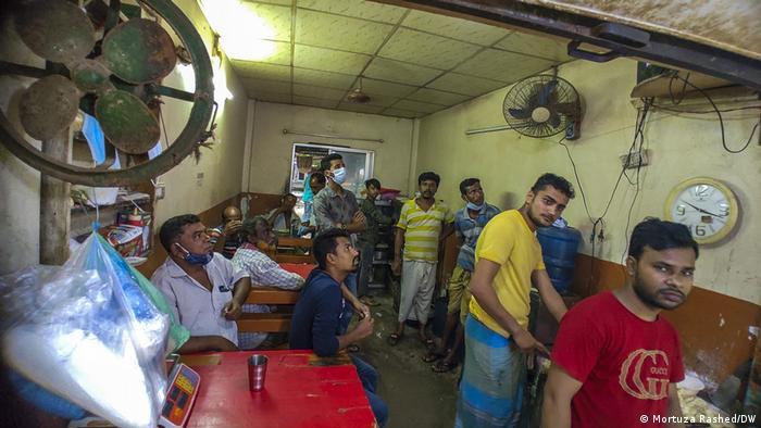 ঢাকায় লকডাউন