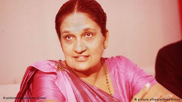Flash-Galerie Mächtige Politikerinnen Sirimavo Bandaranaike