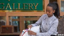 Äthiopien Unternehmerin Yididiya Damtew Bamubs-Produkte