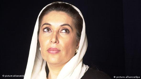 Former Pakistani Prime Minister Benazir Bhutto (Photo: Balkis Press +++(c) dpa - Report+++)