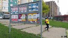 Chisinau im Vorfeld der Parlamentswahlen.