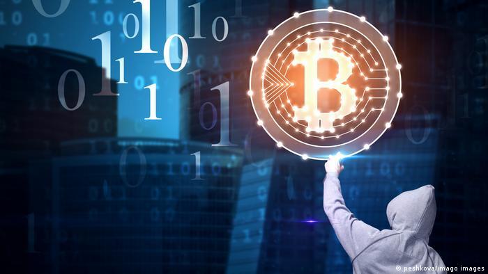 Symbolbild Computerkriminalität Hacker | Lösegeld Bitcoin