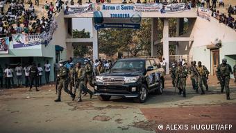 Russische Söldner in Zentralafrikanische Republik | Leibgarde von Präsident Faustin Archange Touadéra