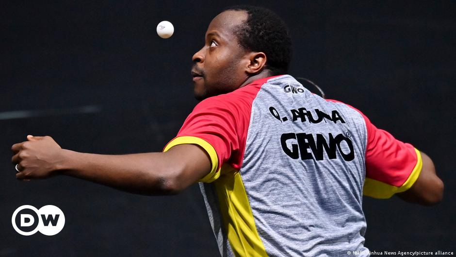 Tokyo Olympics: The African table tennis star hoping to end Chinese dominance | Sports| German football and major international sports news | DW