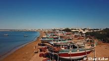 Reservation of locals about CPEC, China Pakistan economic corridor. A view of the coastal area of Baluchistan's Port city Gwadar