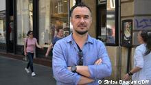 Migrationsforscher Tado Juric, Zagreb, Kroatien Copyright: DW-Korrespondent Sinisa Bogdanic am 18/06/2021