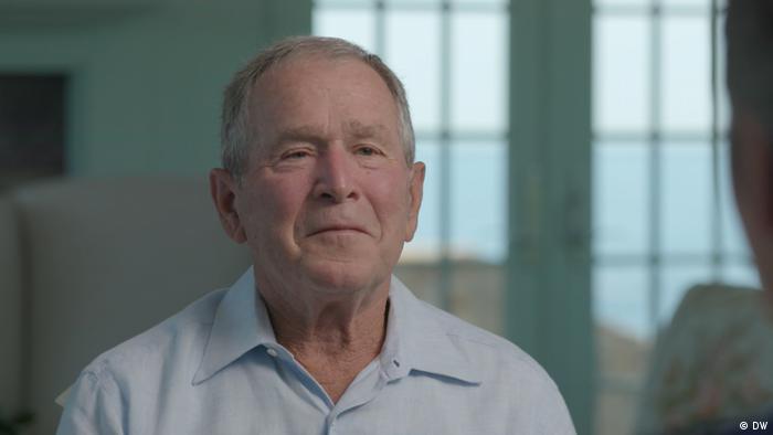 George W. Bush im DW Interview mit Ines Pohl