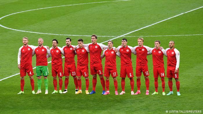 ملیپوشان دانمارک که از تیمهای شگفتیآفرین این دوره هستند، در دور یکچهارم نهایی موفق شدند جمهوری چک را ۲ بر یک شکست داده و به نیمهنهایی صعود کنند.