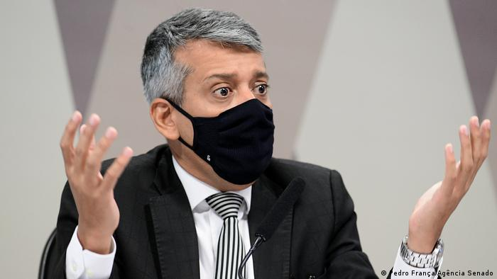 Roberto Ferreira Dias, ex-diretor do Ministério da Saúde