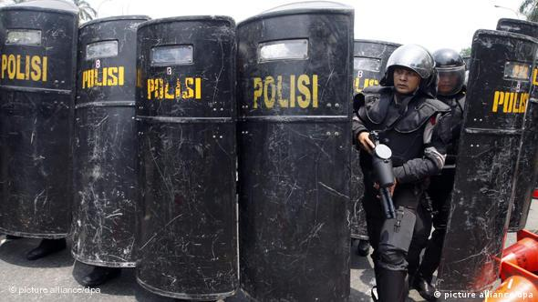 Polizei Indonesien Jakarta Flash-Galerie (picture alliance/dpa)