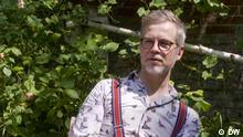 Der polnische Schriftsteller Jacek Dehnel beim Interview mit DW und WP Es sind ausschnitte aus einem web-video.