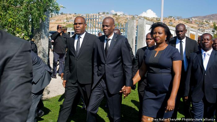 Haiti | Präsident Jovenel Moise Gedenken Opfer Erbebenkatatrophe 2019