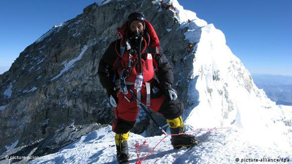 Apa Sherpa Mount Everest Rekord Bergsteiger Flash-Galerie