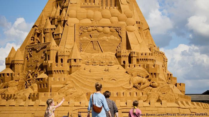 Dänemark | Weltgrößte Sandskulptur in Blokhus