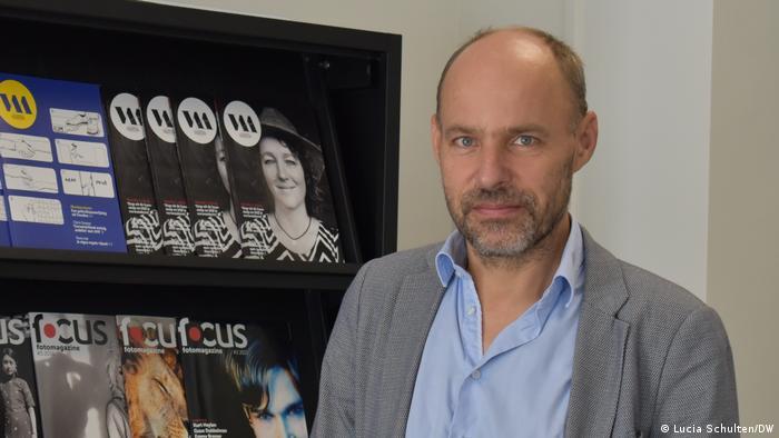 Thomas Bruning, director de la principal asociación de periodistas de Holanda.