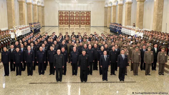 Nordkorea Pjöngjang   Jahrestag Tod des Gründers Nordkoreas   Kim Jong-un