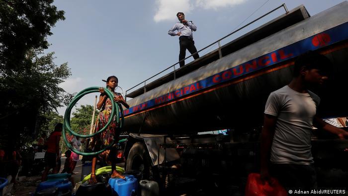 BG I Klimawandel I Hitzehotspots I Neu Delhi