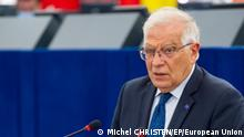 EP Plenary session - Situation in Nicaragua. Josep Borrell; High Representative of the Union for foreign affairs and security policy; Member of the European Parliament; Aussprache über die Lage in Nicaragua; Strassburg; 06.07.2021; Bild: European; Union