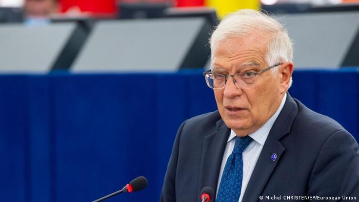 Straßburg EU-Parlament | Aussprache über Lage in Nicaragua | Josep Borrell