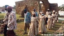 Titel: Mbanza Congo Beschreibung: Die Stadt Mbanza Congo im Norden Angolas feiert den vierten Jahrestag ihrer Einstufung als UNESCO-Weltkulturerbe. Ort: Mbanza Kongo/Angola Fotograf: Firmino Chaves/DW Datum: 08.07.2021 Schlagworte: Angola, Mbanza Kongo, UNESCO, Weltkulturerbe.