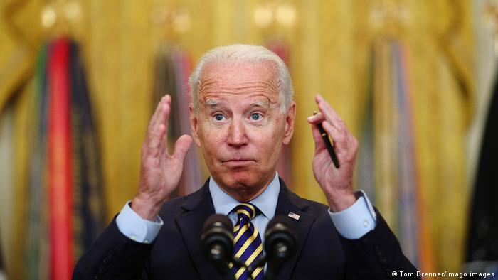 Weltspiegel | Washington, USA | President Biden bekräftigt US Truppenabzug aus Afghanistan