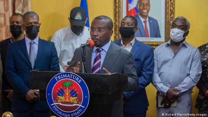 Interims-Ministerpräsident Claude Joseph hat den Ausnahmezustand in Haiti ausgerufen