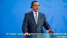 08.06.20201 Treffen zwischen Bundeskanzlerin Angela Merkel und dem Präsidenten von Niger, Mohamed Bazoum, am 8. Juli 2021 in Berlin