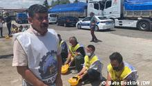 Tahir Cetin, Vorsitzender des unabhängigen Bergbaugewerkschafts (Bagimsiz Maden İscileri Sendikasi) und der Bergmann Ali Faik Inter starben bei einem Verkehrsunfall in Manisa.