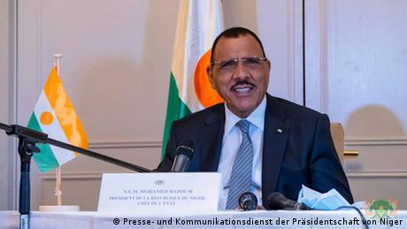 <div>Niger's Bazoum: We need technological assistance</div>