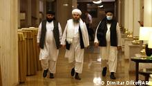Taliban-Vertreter in Moskau, Juli 2021