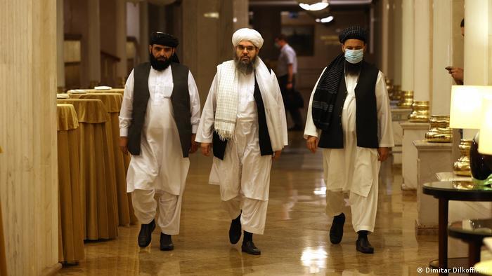 Moskova'daki Taliban heyeti liderleri