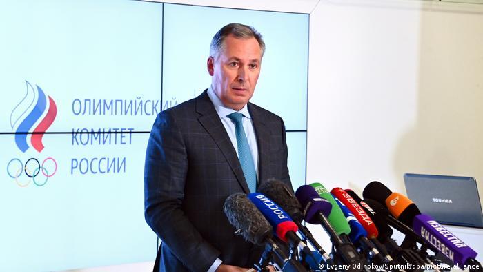 Stanislav Pozdnyakov, President of the Russian Olympic Committee (ROC)